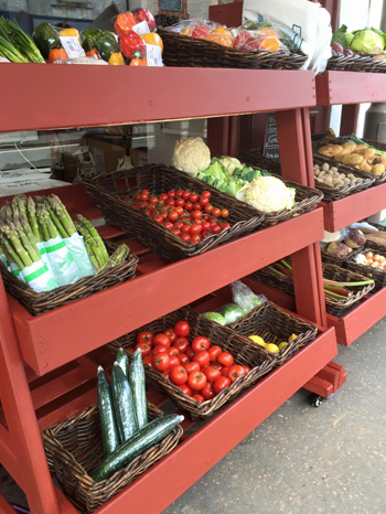 Fruit and Vegetables from local suppliers