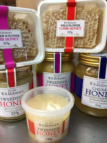 Honey from W.S. Robson